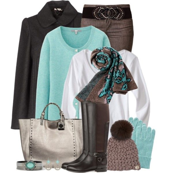 """""""Mint Chocolate Chip"""" by brendariley-1 on Polyvore"""