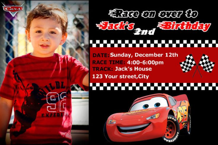 Disney Cars Birthday Invitation Templates Invitation