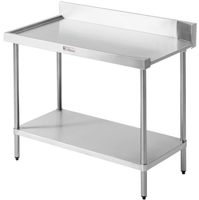 Commercial Stainless Steel Bench - Simply Stainless SS07.1200 Dishwasher Outlet Bench - www.hoskit.com.au | Hoskit Online Store | Sydney, Melbourne, Perth, Brisbane