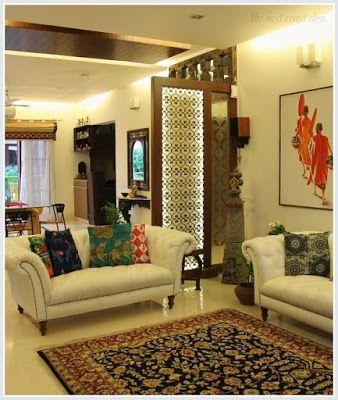 Modern Living Room Divider Ideas Home Wall Partition Design Decoration 2019 Indian Interior Design Indian Living Rooms Indian Home Interior