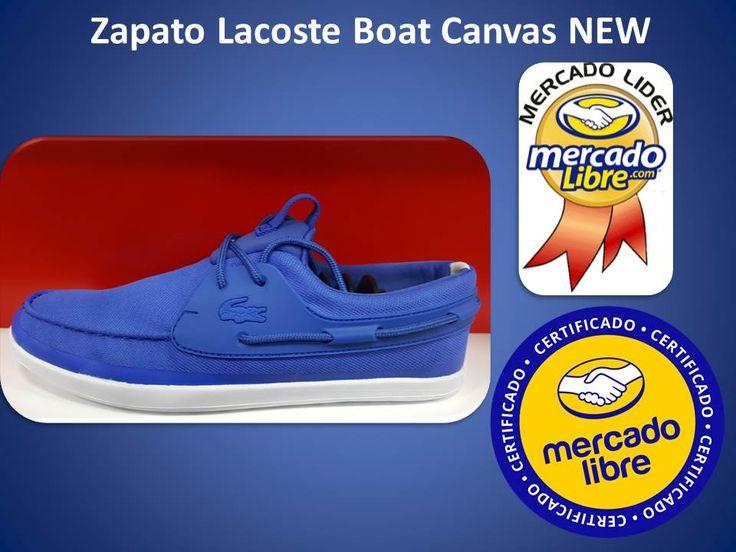 Deportivos Fair Play: Tenis - Zapatos Lacoste Boat Canvas New Originales...