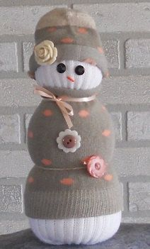 Sock Snowman by TherapyEtc on Etsy https://www.etsy.com/listing/210501931/sock-snowman