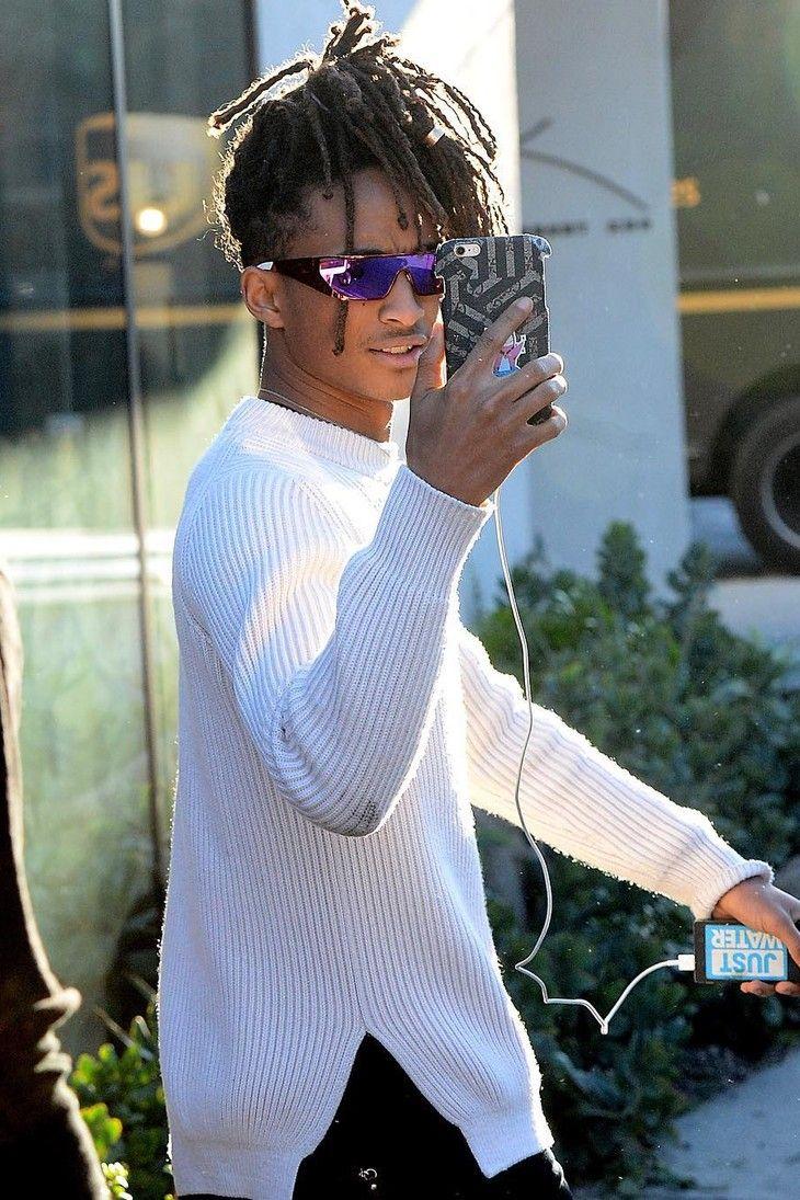 3d3536b68a9 Jaden Smith looks fancy with his Rihanna x Dior sunglasses