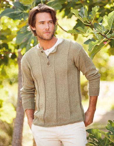 Katia linen - men's pullover, Book: Woman 73 Spring / Summer | 4