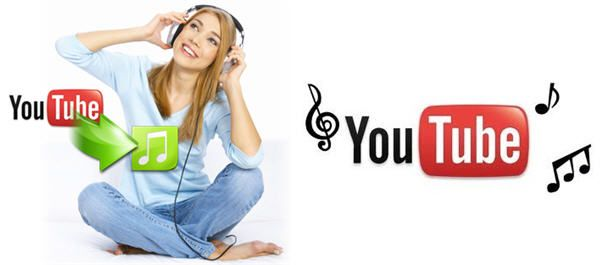 Enjoy the music downloaded from YouTube