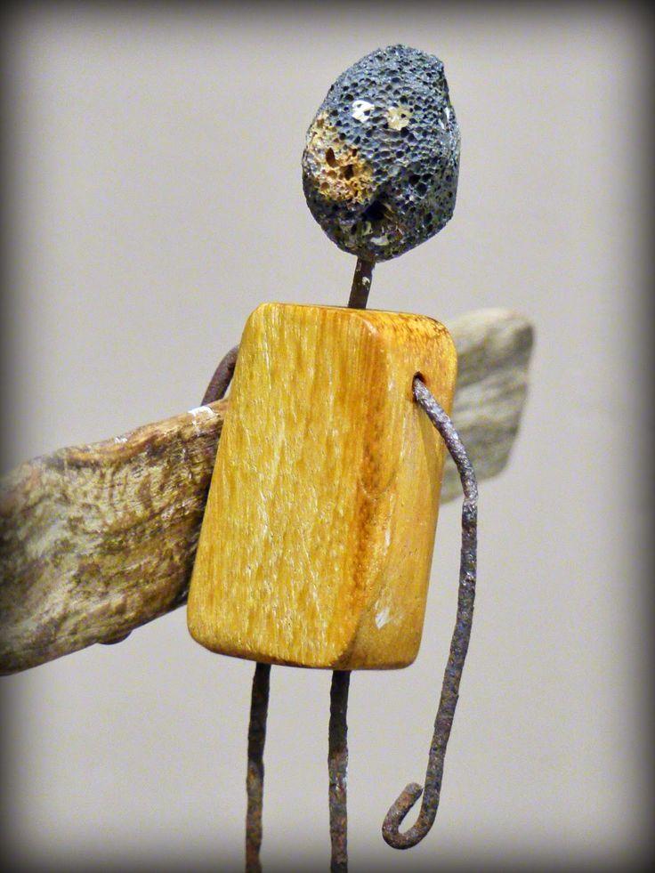 Les 25 meilleures id es de la cat gorie art en bois flott for Creation objet en bois flotte