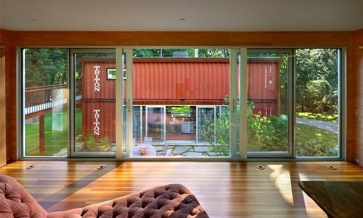 Inside Shipping Container Homes - See more about Container Homes at http://wiselygreen.com/container-homes-pros-and-cons-of-shipping-container-homes/