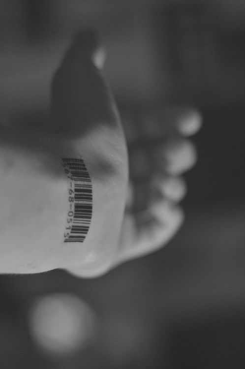 barcode. Have a barcode designed by the spelling of my family name. Love to get it inked on myself
