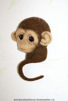 обезьянка магнит своими руками - Поиск в Google