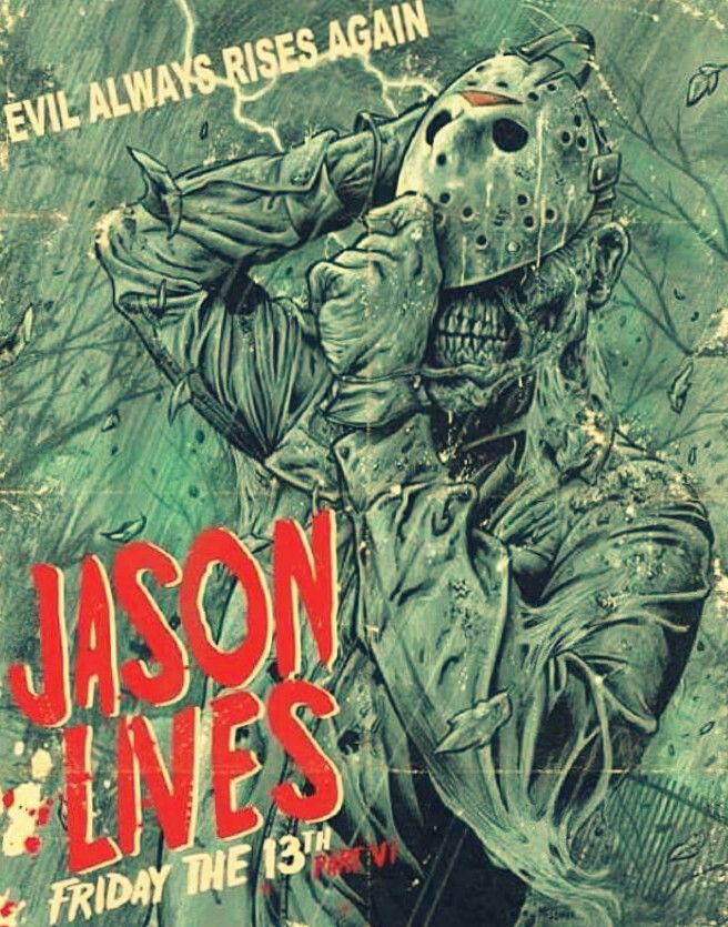 Jason Lives Friday the 13th Part 6