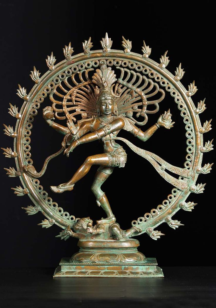 "Bronze Dancing Shiva as Nataraja Sculpture 21""  See - http://www.ancient.eu/article/831/"
