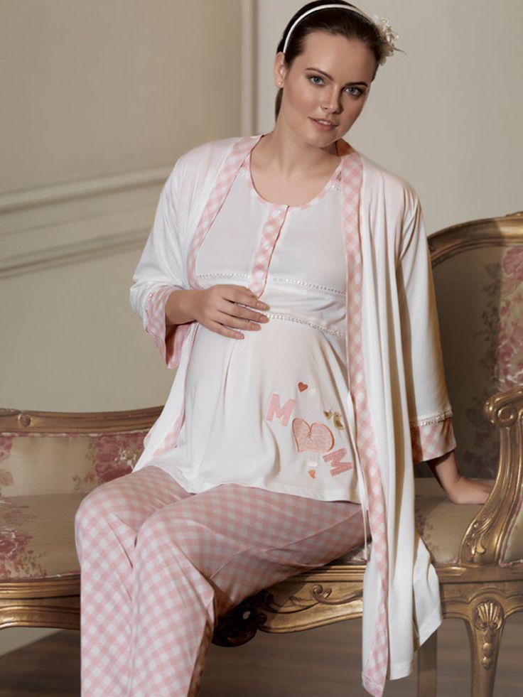 Artış 800 Hamile 3lü Pijama Takımı; Hamile 3 lü pijama takım modelidir.