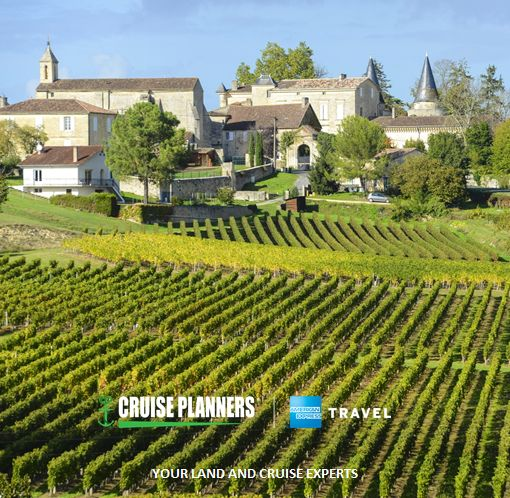 Skip happy hour sip wines right from the source! Call us to plan your trip to one of the worlds premiere wine regions.   Pictured: Saint-Émilion Bordeaux - http://ift.tt/1HQJd81