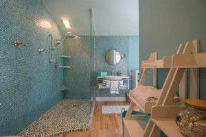 Mejores 55 imgenes de pebble tile shower floor small bathroom en do it yourself pebble shower floor solutioingenieria Gallery