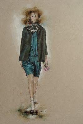 Viktoriia Janis: Голубой Нил