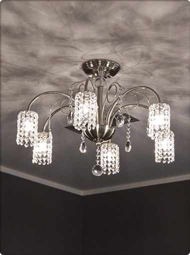 Casina 6 Light Pendant, Pendants, Crystal Chandeliers, New Zealand's Leading Online Lighting Store