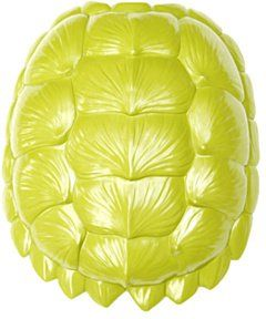 Pin for Later: 70+ Wall Decor Picks That Make a Statement The Bayou Turtle Shell in Green The Bayou Turtle Shell in Green ($125)