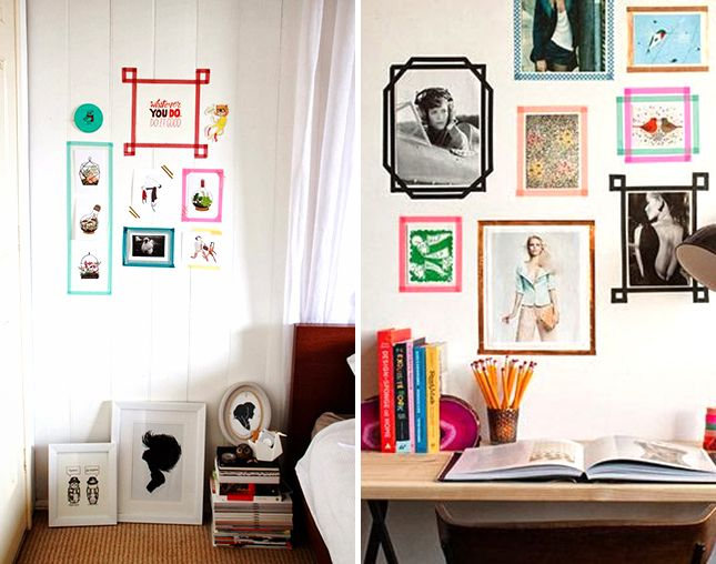 From savvy storage solutions to cute as can be wall art - Cool ways to decorate your room ...