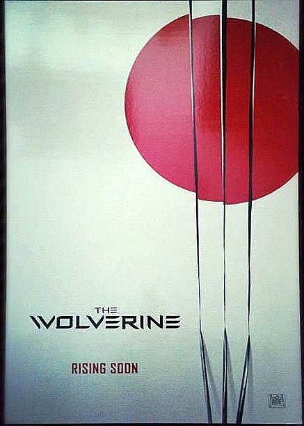 The Wolverine Teaser Poster Leaked! - This one-sheet reportedly came from the offices of director James Mangold, and features a fitting Japanese design motif.