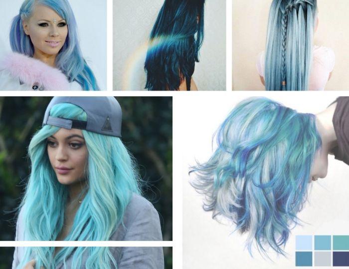 coloration-cheveux-casquette-grise-femme-cheveux-longs-coiffure-boucles-tresse-collé-rouge-a-levres-rose