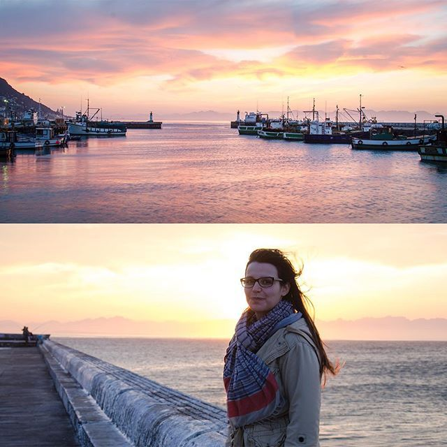 Throwing it way back with these pics from a couple years back. Me and @michelefry17 made it just in time for sunrise in #kalkbay and we were rewarded with one of the most spectacular #sunrises  #morning #boats #harbour #capetown #orms #nikonsa #instagramsa #followforfollow