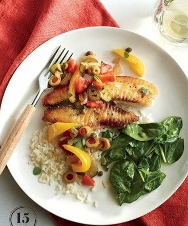 Easy tilapia recipes weight watchers