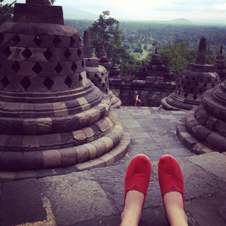 Candi Borobudur, Yogyakarta, Indonesia.