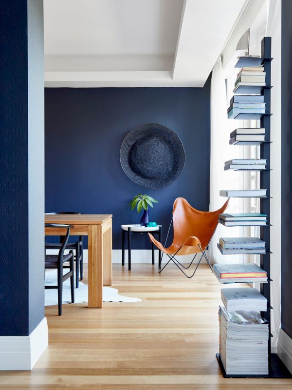 feature walls in Dulux Klavier