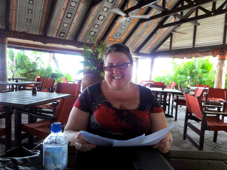 ME time in Fiji, March 2012!!  I'm considerably smaller now thanks to better nutrition and personal training!