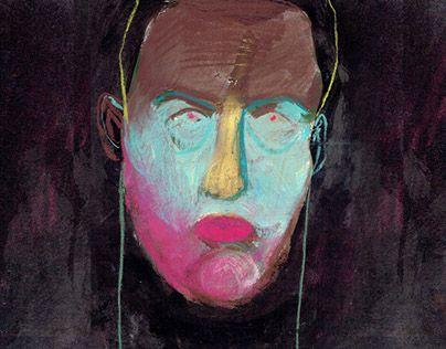"Check out new work on my @Behance portfolio: ""Selfi portrait 5"" http://be.net/gallery/42785477/Selfi-portrait-5"
