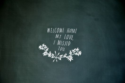 welcome home (designed by shanna murray)