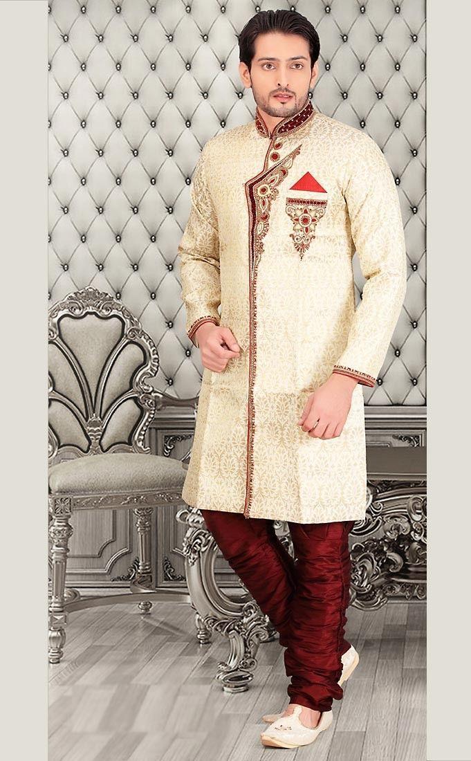 8 Best Buy Sherwani For Men Online Images On Pinterest Men Online