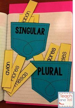 Sustantivos Verbos Adjetivos BUNDLE Nouns, verbs, adjectiv