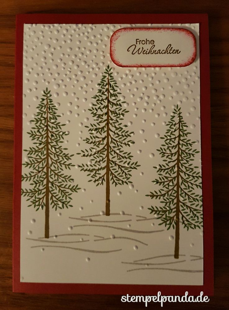 Stampin up, SU, Stempelpanda, Wald der Worte, Thoughtful branches