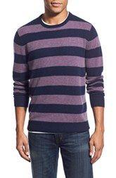 1901 Rugby Stripe Knit Merino Wool & Cashmere Sweater