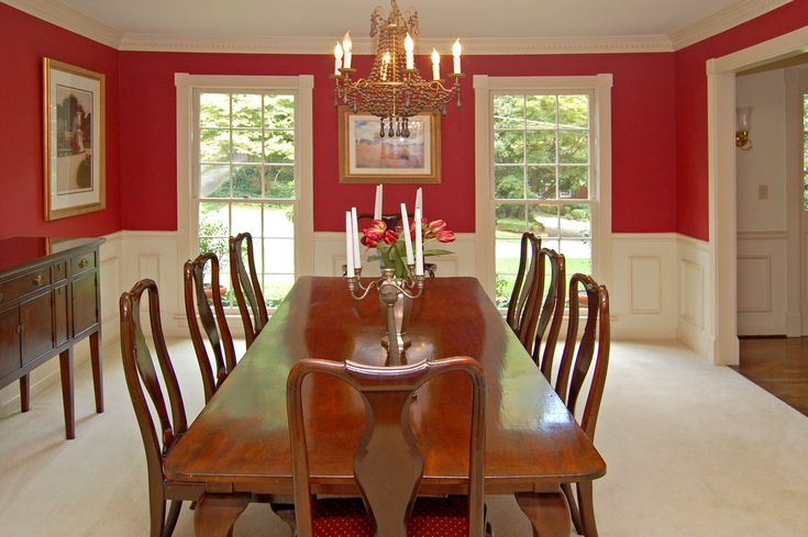 Painting Dining Room Remodelling Captivating 2018