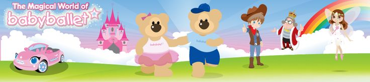 Welcome to the home of Twinkle and Teddy...The babyballet Castle in the Sky - babyballet baby ballet