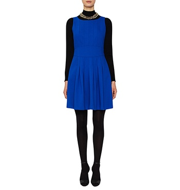 David Lawrence | DL Atelier - DL Atelier - Luxury Pleated Bonded Crepe Dress