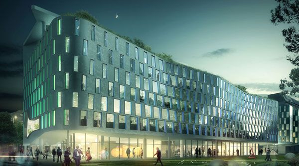 Thomas Street Building UTS Campus by Durbach Block & Jagger, 2014.