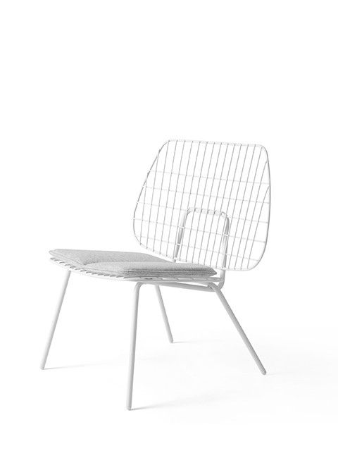 Deceptively simple, the airy and delicate appearance of String Chair belies the obsessive attention to detail devoted to its design by Studio WM, Rotterdam-base