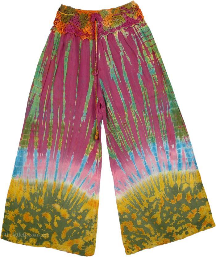 Tie Dye Hippie Pants