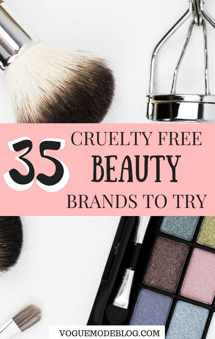 Cruelty free products list of 35 makeup, skincare and beauty brands that don 't test on animals! Use these cruelty free brands to help stop animal testing!