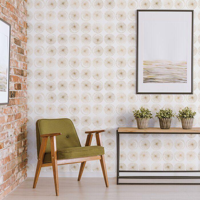 Olivas 33 L X 20 5 W Peel And Stick Wallpaper Roll Reviews Allmodern Removable Wallpaper Peel And Stick Wallpaper Home
