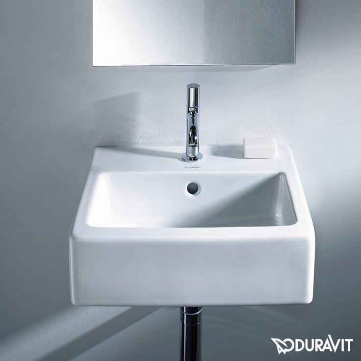 Duravit Vero Handwaschbecken Weiss Mit 1 Hahnloch Duravit Handwaschbecken Waschbecken Gaste Wc