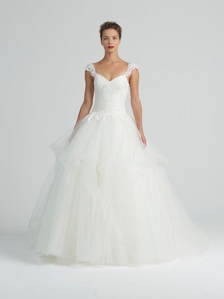 Amazing Kenneth Pool Fall Winter Elegant Ball Gowns Fit for Royalty Ballgown Wedding DressPool WeddingDesigner