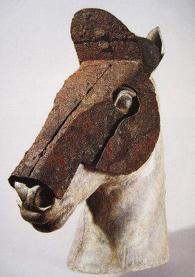 말 머리 가리개(馬面冑)
