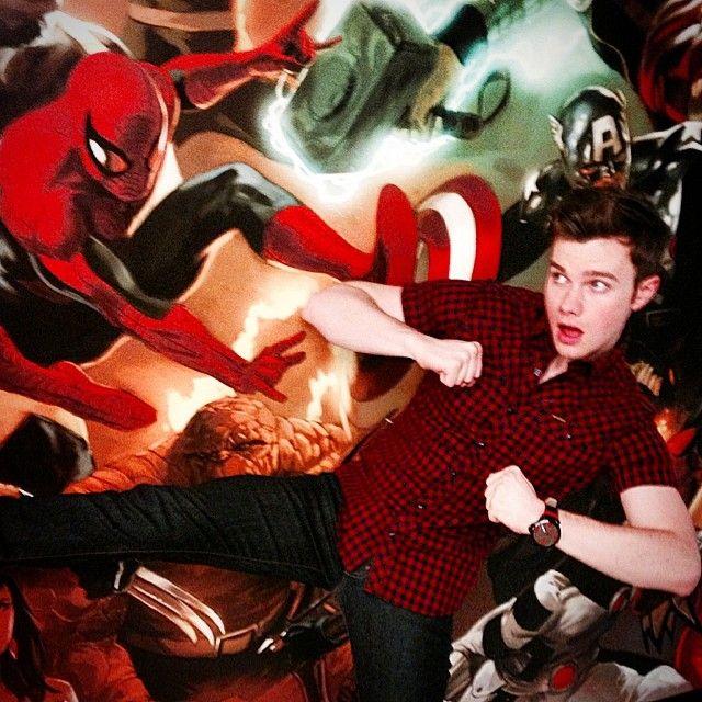 hrhchriscolfer: Avenger time. #marvelheadquarters #tlos3