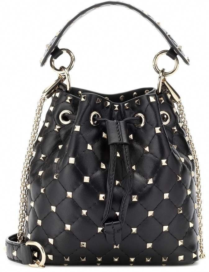 7e348ce8b426 Valentino Rockstud Spike bucket bag #Designerhandbags | Designer ...