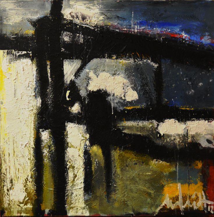 100 x100 cm Abstract Art by Paul Smidt  www.paulsmidt.nl www.facebook.com/paulsmidtschilderkunst