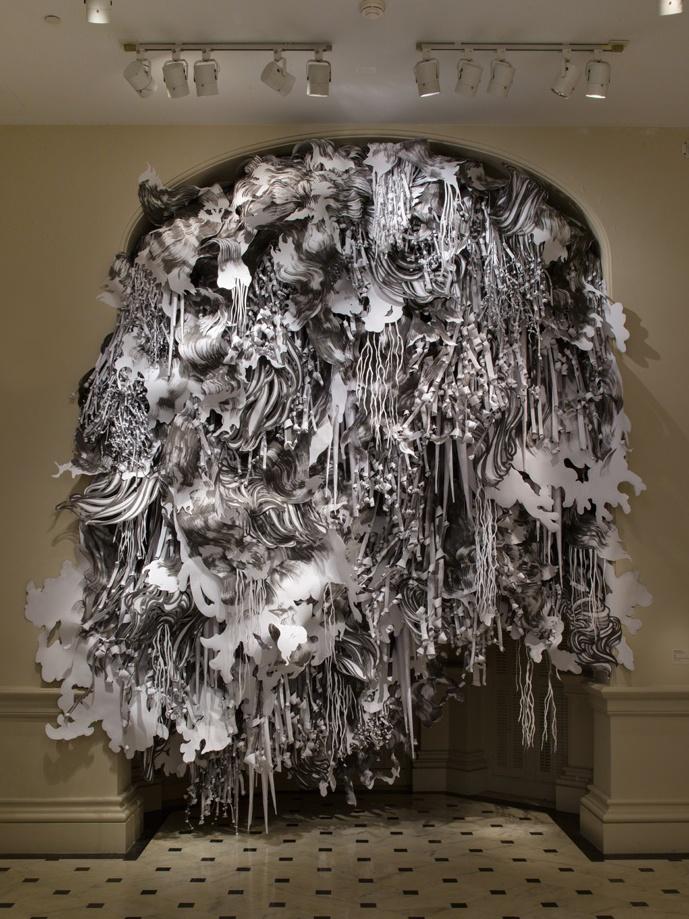 Wonderful paper artist Mia Pearlman                                                                                                                                                                                 More